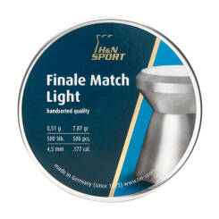 Śrut H&N FINALE MATCH LIGHT kal. 4,5mm (500szt.)