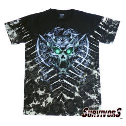 DEVIL SKULL T-shirt Survivors